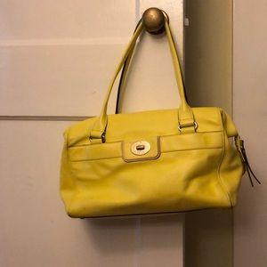 EUC Kate Spade yellow bag